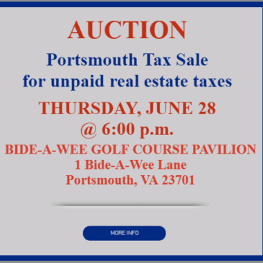 City of Portsmouth Delinquent Tax Sale 6/28/2018